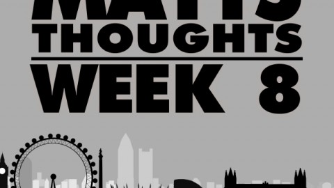 Matts Thoughts – Week 8 – Buc'ing hell!