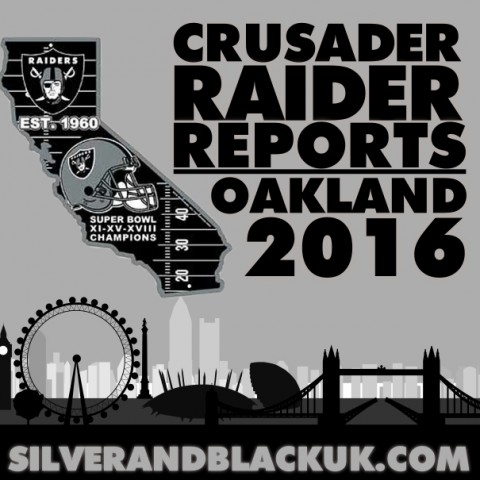 Crusader Raider Reports – Oakland!
