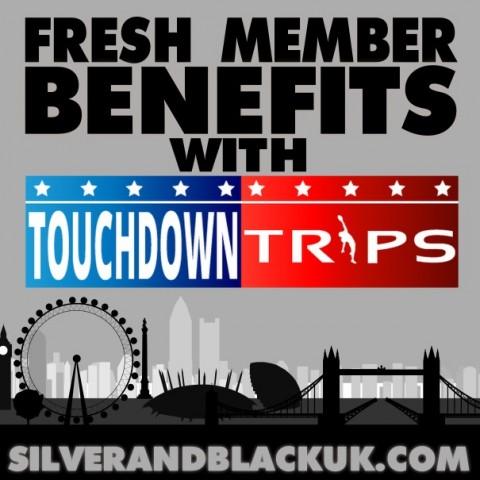 NEW MEMBER PERK – Touchdown Trips