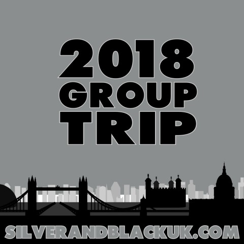2018 Group Trip Schedule