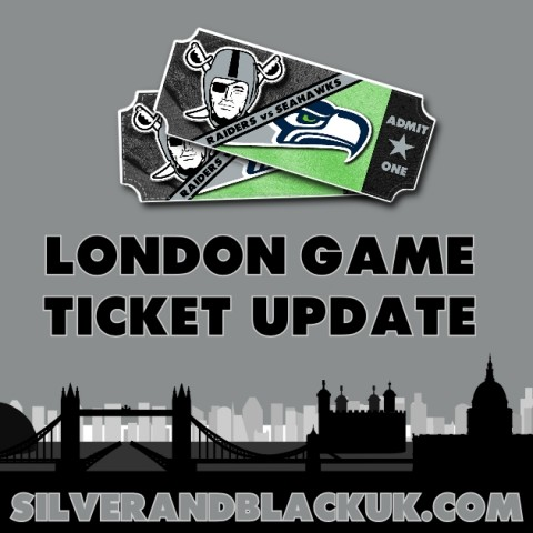 London 2018 – Ticket Update (Early April)